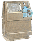 Oxygen concentrator machine.