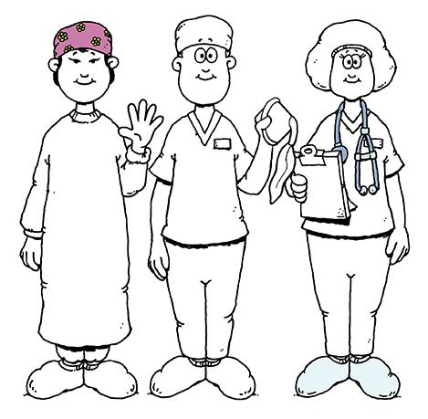 Three healthcare providers.
