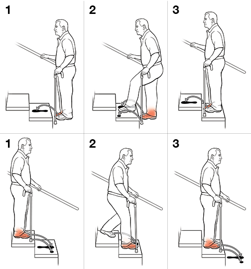 Crutches Stairs Instructions Photos Freezer And Stair Iyashix