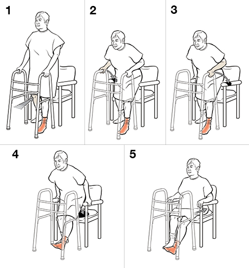 how to use crutches on stairs non weight bearing