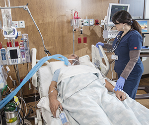 breathing machine after surgery