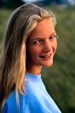 Picture of adolescent female, smiling